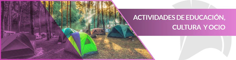 seguro para grupos en actividades de ocio, cultura y educación