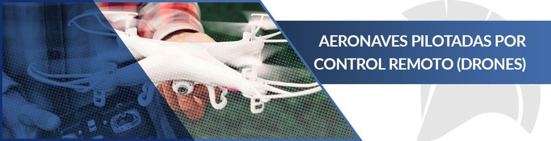 Seguro para drones, aeronaves pilotadas por control remoto