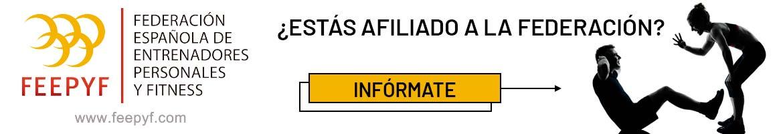 Banner Federación Española Entrenadores Personales y Fitness